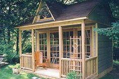 art studio in backyard... want want want