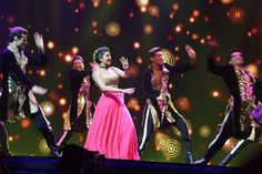 The actress performed to numerous hit songs. #IIFA2016
