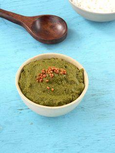 Vallara Keerai Thuvaiyal | South Indian Chutney Using Water Cress, a very detailed recipe...