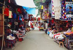 Aguas Calientes, Peru. I've been to this market