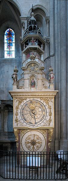 File:Cathedrale Saint Jean Lyon Astronomical clock.jpg
