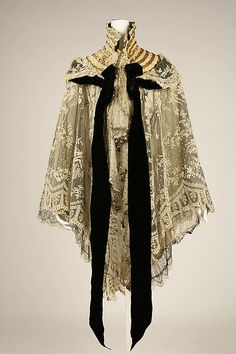 Evening wrap silk 1900* Maison Lafferière