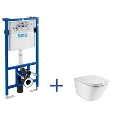 Zestaw podtynkowy Duplo + miska WC podwieszana Gap Rimless   Miski WC podwieszane   WC   Produkty   Roca