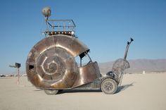 21BM0001.jpg snail car , burning man