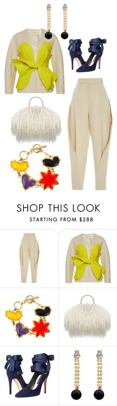 """""""Untitled #812"""" by clothes-wise ❤ liked on Polyvore featuring Delpozo, Christian Lacroix, Alice + Olivia and Marni"""