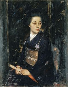 James Peter Quinn - A Japanese lady (Madame J. Takeuchi), 1911