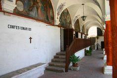 Confesionarios // Monasterio de Santa Catalina (de Siena), Arequipa, Perú // Monastery of Saint Catherine of Siena, Arequipa, Peru // #religiouslife