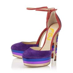 Women's Style Sandal Shoes Purple Colorful Platform Ankle Strap Heels Platform Stiletto Heels Pumps Fall Outfits Women Women's Fashion Dresses Shoes Stripper Platform High Heels for Party, Night club, Date, Anniversary Hot High Heels, Platform High Heels, Sexy Heels, High Heel Boots, Ankle Boots, Stilettos, Pumps Heels, Stiletto Heels, Flats