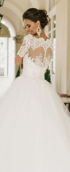 Wedding dress idea; Featured Dress: MillaNova