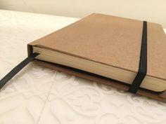 Para o caderno de criatividade das crianças... DIY Moleskine Journal/Sketchbook Textblock (Part 1) - YouTube