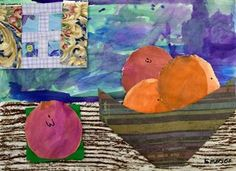 Artsonia Art Gallery - 2ND GRADE FRUIT STILL LIFE '15-'16
