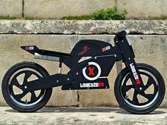 KIDDIMOTO - 399 - Draisienne superbike Jorge lorenzo noire