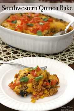 Southwestern Quinoa Bake :: Butter With A Side of Bread
