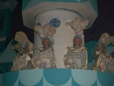 It's a Small World French cancan girls in the finale scene. Disney World.
