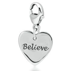 $40 Expressions for Helzberg® Believe Charm available at #HelzbergDiamonds