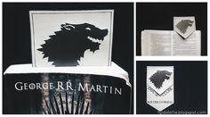 Zakladka do ksiazek DIY/ bookmark Game of Thrones