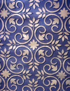 Mediterranean Tile Stencils. cute :))