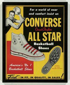 Vintage Converse - Vintage Clothing - Blue 17