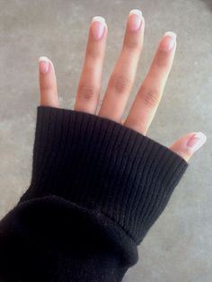 Classic french manicure! Perfect for every day! #Nails #OwenSound