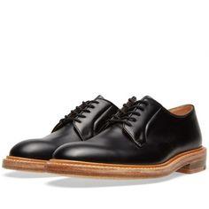 END. x Tricker's Robert Derby Shoe (Black Box Calf)