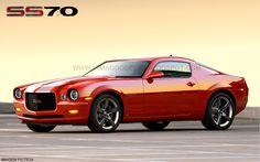 Camaro SS70 concept. Possible 2014 Chevrolet Camaro