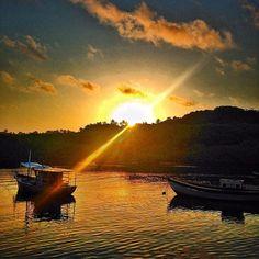 Caraiva pura vida #sunset #gratidao #caraiva #bahia by bethpedote_ashtanga
