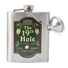 Sales Producers Inc. Flask, Fathers Day, Barware, Golf, Drinks, Gifts, Drinking, Presents, Father's Day