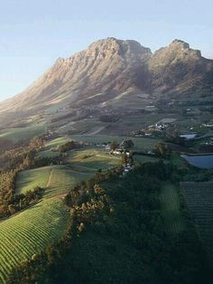 This is French Huguenot country. Franschhoek winelands, near Cape Town, South Africa Oh The Places You'll Go, Places To Travel, Places To Visit, Silvester Trip, Jacob Zuma, Le Cap, Parc National, Africa Travel, Wonders Of The World