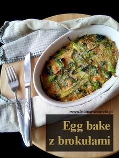 Egg bake z brokulami
