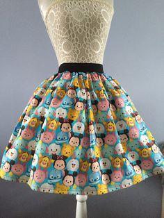 Jupe Disney Tsum Tsum par PicknMix sur Etsy Plus Casual Cosplay, Skirt Fashion, Fashion Dresses, Fashion Top, Fashion Edgy, Urban Fashion, Fashion Tips For Women, Womens Fashion, Fashion Ideas