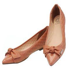 Sapatilha Laço Tan Roseo 4052 Dumond para Moselle | Moselle sapatos finos online! Moselle é feminina.