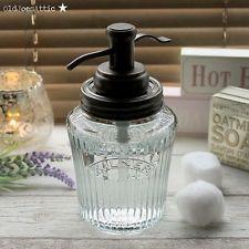 Kilner Vintage Preserve Jar Soap Dispenser In Gl With Bronze Water Well Pump Dispensersbathroom Dispenseroil Rubbed