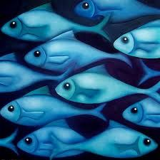 Blue Aqua Fish