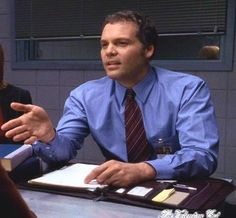 Vincent D'Onofrio as Detective Robert Goren - the best cop on TV!  Law & Order: Criminal Intent