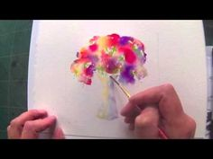 Simple Loose Watercolours 'Gather Ye Rosebuds' with Andrew Geeson - YouTube