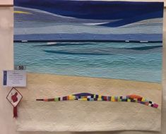 QuiltWest 2014 – Rhonda Bracey: At Random Nautical Theme, Western Australia, Craft Fairs, Underwater, Needlework, Surfing, Applique, Quilts, Pattern
