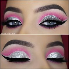 21 Pink Eye Makeup Looks for Blue Eyes Are you looking for a brand new way to rose those pink shades? We've got 21 pink eye makeup looks for blue eyes that we think you might just like. Pink Eye Makeup Looks, Eye Makeup Tips, Eyeshadow Looks, Makeup Inspo, Makeup Eyeshadow, Beauty Makeup, Eyeliner, Pink Makeup, Makeup Brushes