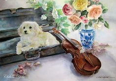 Watercolor Paintings by Chihiro Yabe | Animals