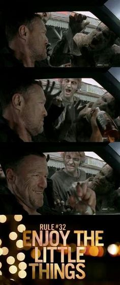 {Walking Dead} Merle:(      This was one of my favorite scenes. Merle screwing around with the walkers.