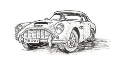 How to Draw Cars in Four Easy Steps - tutorial