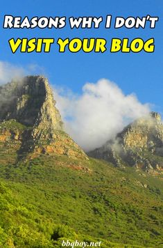 Here are some of my biggest peeves with other people's blogs. All are reasons why I probably don't visit your blog #bbqboy #blogging #blog #travel