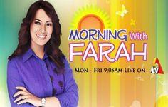 A Tv Morning With Farah (Azhar Rangeela Comedian) - 4th April 2014 | PK Drama Online Watch Drama Online, Watch Live Cricket Streaming, Punjabi Comedy, Pakistani Dramas Online, Plus Tv, Geo Tv, Tv Shows Online, Online Video, Morning Show