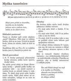 popis - Myška tanečnice Music Education, Music Notes, Image Search, Sheet Music, Innovation, Bullet Journal, Teacher, Carnival, Music Ed