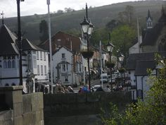 Llangollen.  I went hear twice.  The first little house on the right is an adorable tasty teahouse.