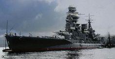 Japanese battleship Mutsu. by umbry101, via Flickr