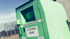A woman in Canada died Tuesday after she was found partially stuck inside a clothing donation bin in Toronto, police said. Weird Stories, Short Stories, Are You Serious, Weird News, Outdoor Gear, Police, Woman, Sayings, Clothing