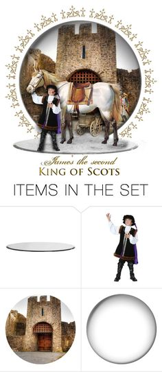 """James II, King of Scots (1430-1460)"" by annette-heathen ❤ liked on Polyvore featuring art, history and scotland"