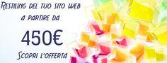 offerta restyling sito web