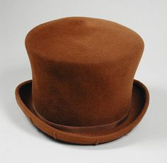 Woman's top hat | Designer: James Galanos | United States, circa 1985 | Material: wool felt | Los Angeles County Museum of Art, LACMA