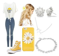 Sunny Day by victoria1221 on Polyvore featuring polyvore fashion style Topshop Converse Allurez Lauren Ralph Lauren Kate Spade ASOS clothing